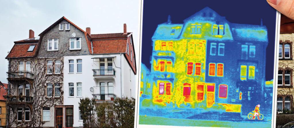 Termovizijski pregled fasade
